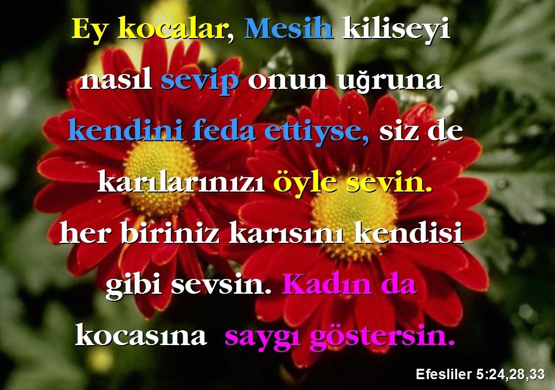 Efesliler 5.24.28.33